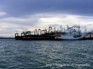 Dermaga pelabuhan Tual