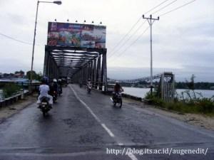 Jembatan Watdek penghubung Kei besar dan Kei Dullah